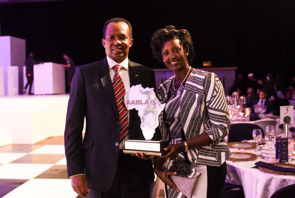 Prix africain 2018 décerné au Président Kagame en Afrique du Sud
