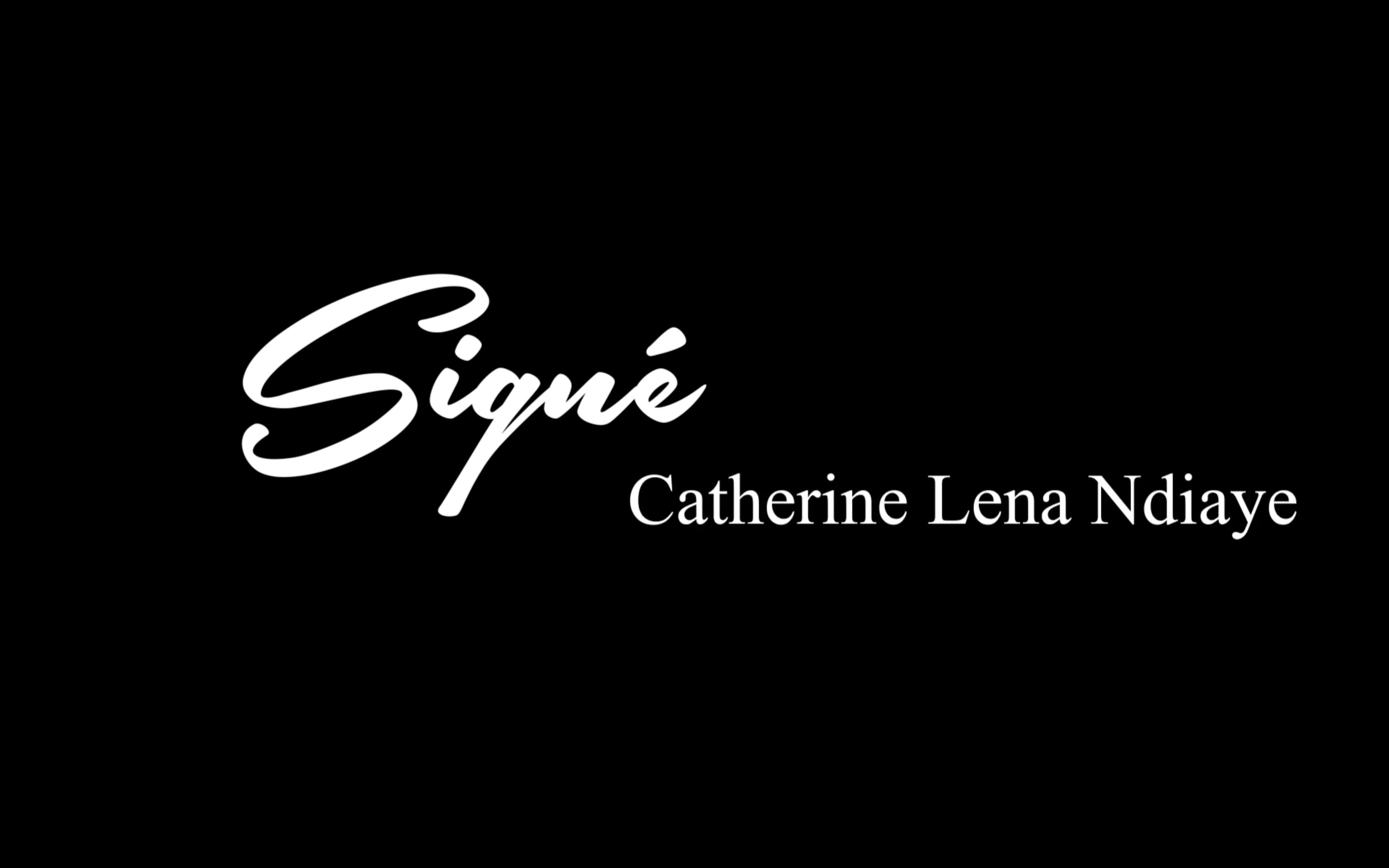 Signé Katy Lena Ndiaye
