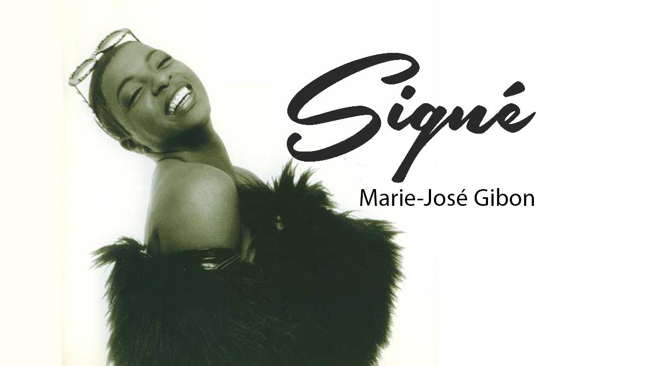 Signé Marie-José Gibon