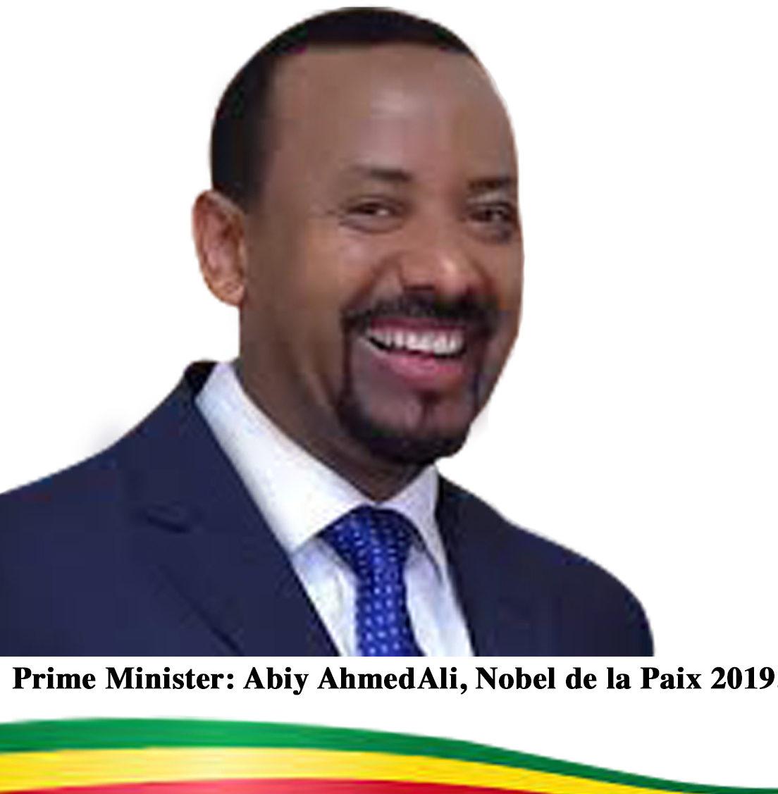 Abiy Ahmed Ali est Nobel de la Paix 2019